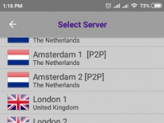 Review Screenshot - VPN App – Enjoy Internet Freedom Anywhere in the World