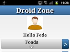 DroidZonePro - Zone Diet 2.4 Screenshot