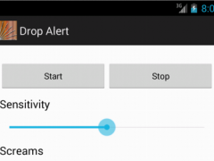 Drop Alert 1.0 Screenshot