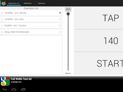 Drummer's Metronome 2.0.3 Screenshot