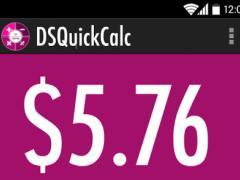 DSQuickCalc 1.0.1 Screenshot