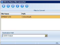 DSS File Converter 2011.01 Screenshot