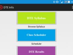 DTE Info 1.0 Screenshot