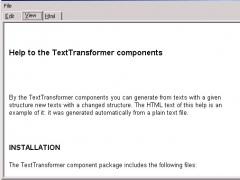 DTetraComponents 1.3.0 Screenshot