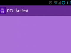 DTU Årsfest 3.0.1 Screenshot