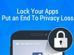 DU Privacy Vault - App Lock  Screenshot