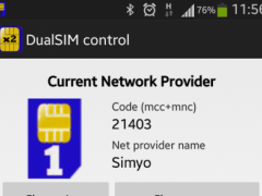 DualSIM control 1.02 Screenshot