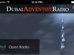 Dubai Adventist Radio App 1.0 Screenshot