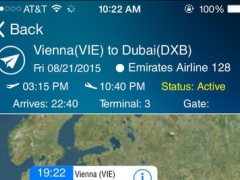 Dubai Airport DXB +Flight Tracker 8.0 Screenshot