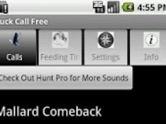 Duck Call Free 2.5 Screenshot