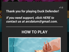 Duck Defender Free 1.4 Screenshot