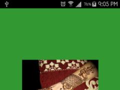 Dulhan Mehndi Design 3 Screenshot