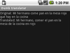 Dumb Translator 1.1 Screenshot