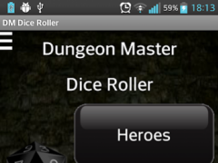 Dungeon Master Dice Roller 1.2.2 Screenshot