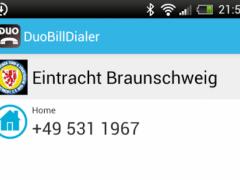 DuoBilllDialer 1.4 Screenshot