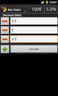 Dutching Calculator