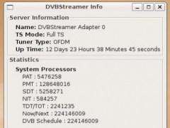 DVBStreamer 0.1 Screenshot