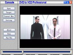 DVD to MPEG VCD Converter 3.4.40 Screenshot