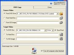 DVD Video Copier 1.2 Screenshot