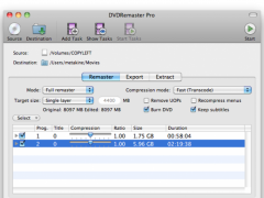 DVDRemaster 8.0.3 Screenshot