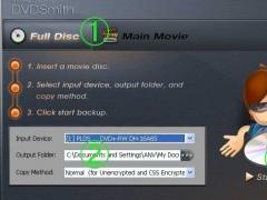 DVDSmith Movie Backup 1.08 Screenshot