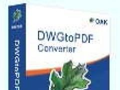 DWG to PDF command line 3.1 Screenshot