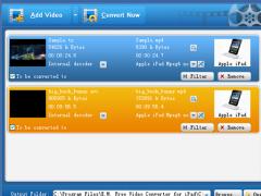 E.M. Free Video Converter for iPad 3.71 Screenshot