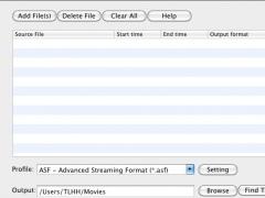 Eahoosoft Video Converter for Mac 2.10 Screenshot