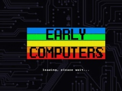 Early Computers – 8 bit Vintage Text Editor & Old Keyboard for Retro ASCII Art Graphics 1.0 Screenshot