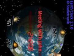 Earth Clock Lite - Alarm Clock 3.1.10 Screenshot