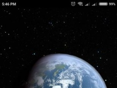 Review Screenshot - Make Your Device's Screen More Dynamic with the Earth Live Wallpaper