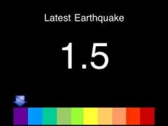 Earthquake Alert FREE 1.1.0 Screenshot