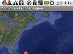 Earthquake real time indicator 1.08 Screenshot