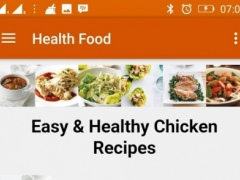 Easy and Healthy Food Recipes 1.0 Screenshot