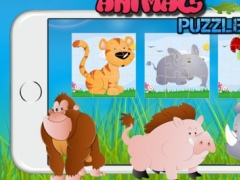 Easy Animals Jigsaw Drag And Drop Puzzle Match Games For Toddlers And Preschool 1.0.0 Screenshot