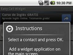 Easy Call Widget 1.0 Screenshot