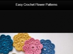 Easy Crochet Flower Patterns 1.0 Screenshot
