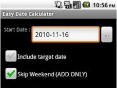 Easy Date Calc 1.2.1 Screenshot