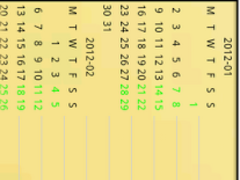 Easy Diary Everyday for PAD 1.0 Screenshot