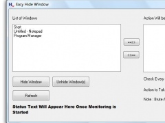 Easy Hide Window 1.0 Screenshot