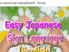 Easy Japanese Sign Language[English] Free App 1.0.3 Screenshot