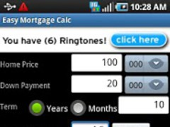 Easy Mortgage Calc 1.0 Screenshot