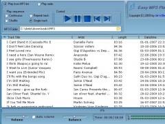 Easy_MP3_Player_&_Radio 2.8 Screenshot