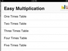Easy Multiplication for iPad 1.0 Screenshot