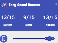 Easy Sound Booster 1.0.1 Screenshot