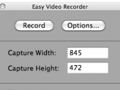 Easy Video Recorder for Mac 1.5 Screenshot