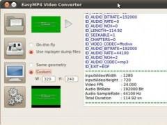 EasyMP4  Screenshot