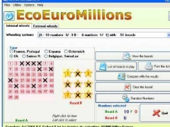 EcoEuroMillions 1.55 Screenshot