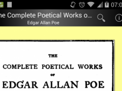 Edgar Allan Poe Poetical Works 3.0 Screenshot