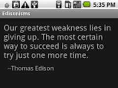 Edisonisms 3.0 Screenshot